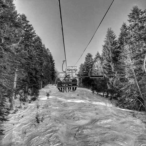 Going Up between the Trees 😀⛷ Tranquility in Bareges Ski Station 😀 Transportation Nature Snow Winter Ski Lift Moment Iphonephotooftheday Iphoneonly Iphonephotography Mobilephotography EyeEm IPhoneography France Pyrenees Outofthephone Iphonographie IPhoneography Blackandwhite Travel Destinations