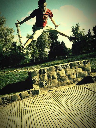 Big Jump That's Me