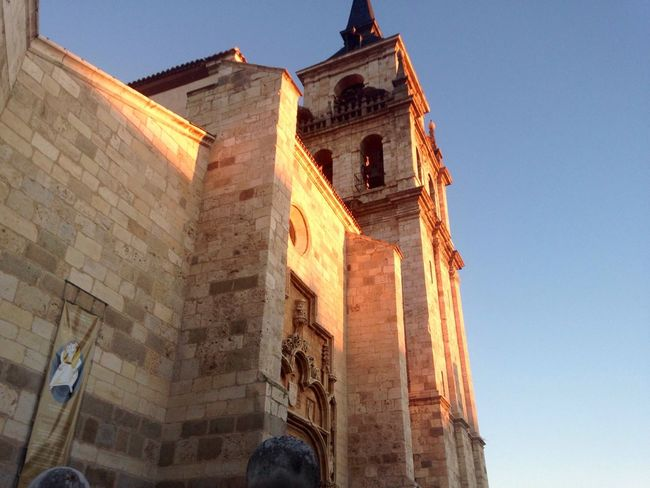 Alcala De Henares Madrid Spain Architecture Building Exterior Built Structure Low Angle View Religion Sky Place Of Worship Outdoors No People Day