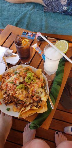 Fast Food Table