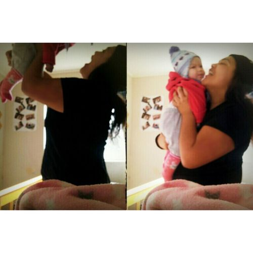 Playing Around Baby Cutie Love You