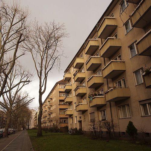 Schoeneberg Schöneberg Gleditschstrasse Germangemütlichkeit Fünfzigerjahre Fünfzigerjahrearchitektur Nachkriegsbauten Nachkriegsarchitektur