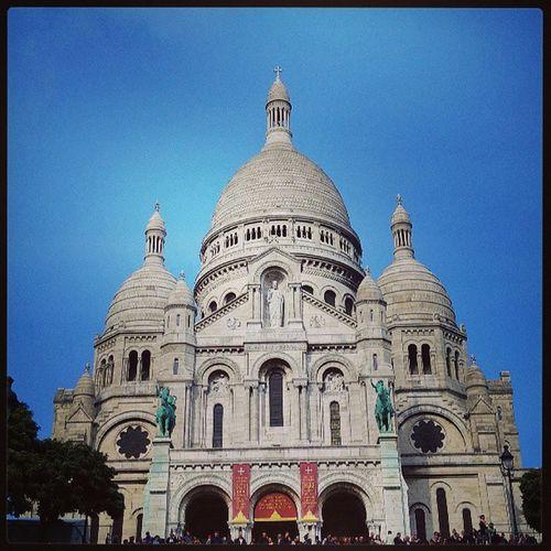 Visite au Sacré coeur Paris Sacrecoeur Visitparis France montmartre basilique