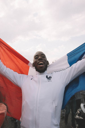 World Cup 2018: France celebrating their victory in Paris → https://www.eyeem.com/blog/world-cup-2018-france-celebrating-their-victory-in-paris