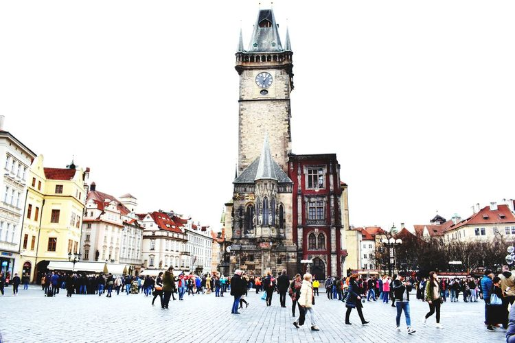 The beautiful old town of Prague Prague Czech Republic Prague♡ Prague Old Town Old Town Oldtown Stare Mesto Staremesto Praha Praga Followforfollow Follow4follow Follow Me :) Travel Destinations Clock Tower Architecture Clock Building Exterior Cityscape Crowd Astronomical Clock Vacations History Large Group Of People Outdoors