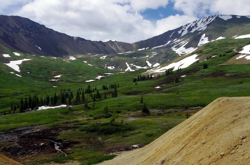 Colorado Colorado Photography Beauty In Nature Snow Mountain Landscape Mining History Of America Scenics Mining Heritage Argentine Pass Santiago Mine