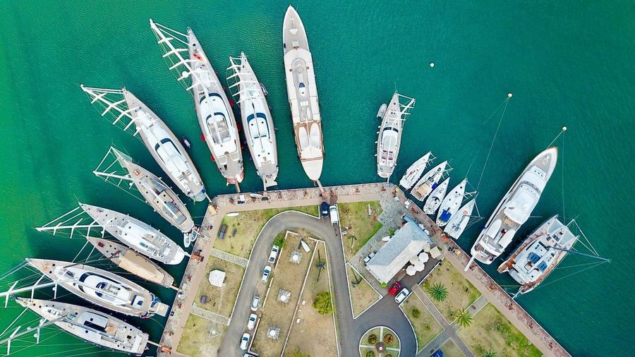 Yachts from
