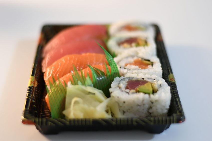 Fish Sushi Food Freshness Japan Food Ready-to-eat Sushi