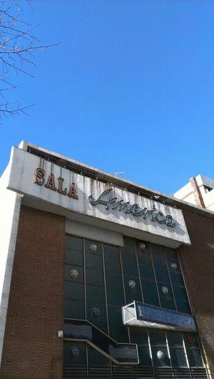 America Tipography Azul Madrid Street Tipography