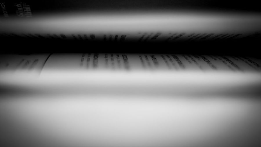 Book Pages Shallow Depth Of Field Blackandwhite Pages Folded Backgrounds Reflection Close-up