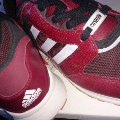 Todaystrotters Todaystrainers Adidaseqtrunningcushion Adidaseqt Snakeskin Thebluebox Ramon085 Thebrandwiththethreestripes Teamtrefoil Trefoilonmyfeet Secondlineofholeslacesup