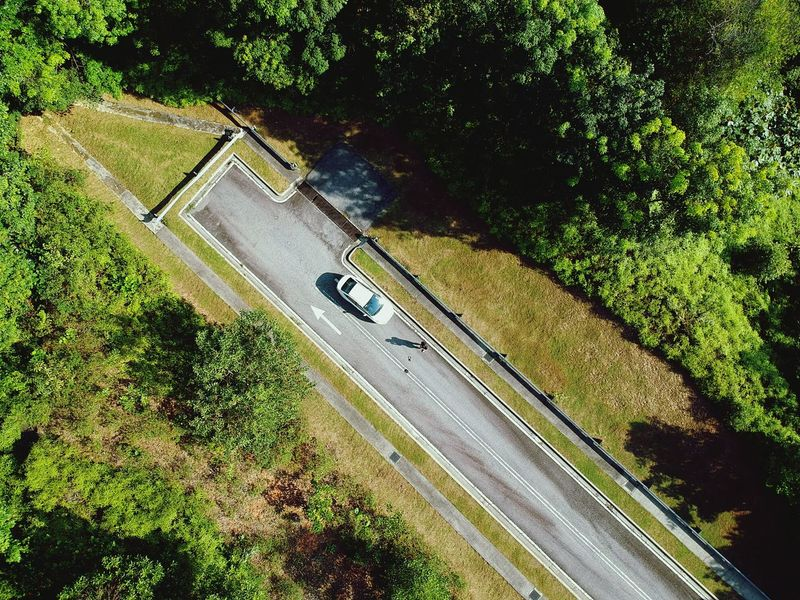 Dead road High Angle View Grass Shadow Lost In The Landscape NO FLY ZONE Quadcopter Firmware Update Dronephotography Aerial Photography Car