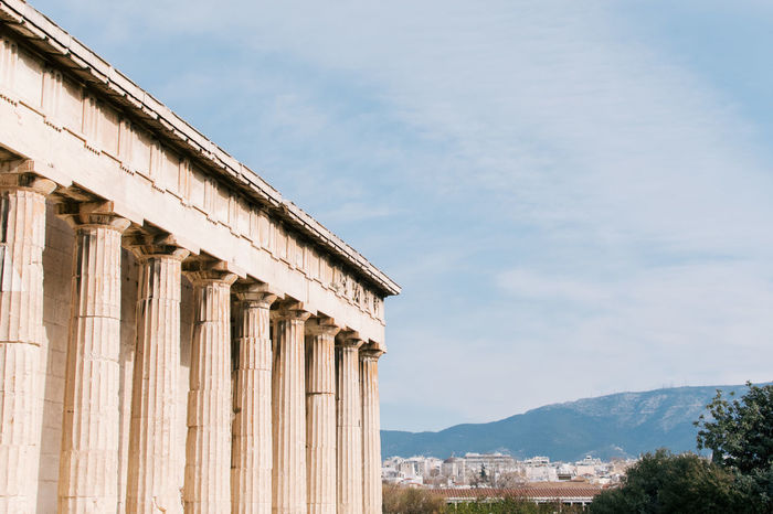 Acropolis Architecture Athens Athens, Greece Built Structure Cloud - Sky Day Greece History No People Outdoors Sky Travel Travel Destinations Travel Photography