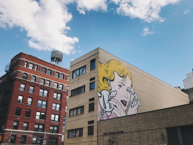 Architecture Building Exterior Streetphotography Streetart Popart NYC