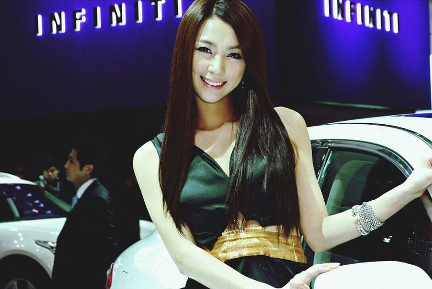 Model Racing Girl Auto Show Color Portrait @korea goyang city daehwa-dong [kintex] @Panasonic GF1 / 14-140mm f4.0-5.6