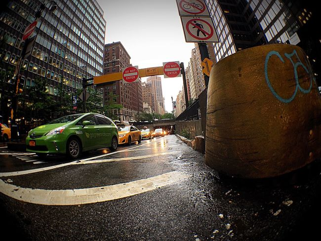 Park Avenue Tunnel.... NYC Olloclip Fisheye Midtown