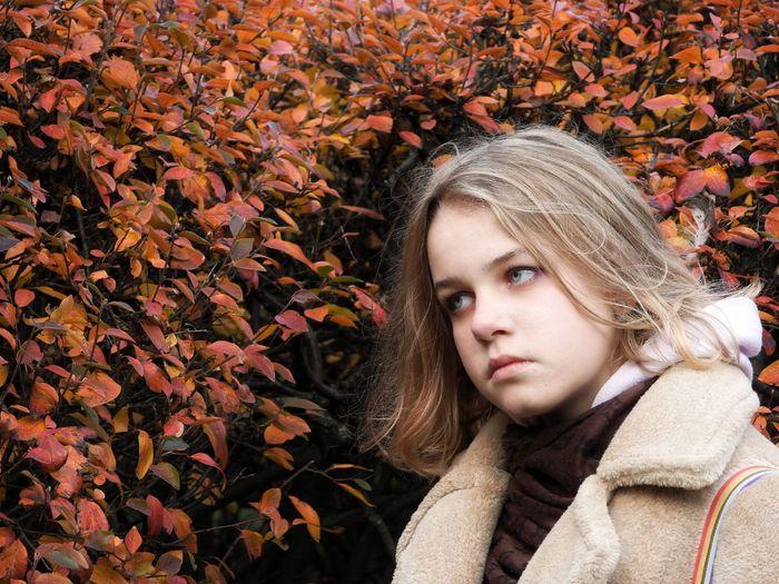 Angelina and autumn
