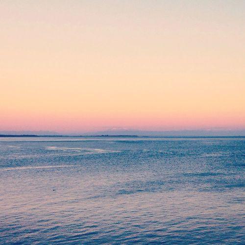 Sunset Ocean Sky South Chiloé, Chile Outdoors Beachscape Landscape Seascape Nature Colours Of Nature