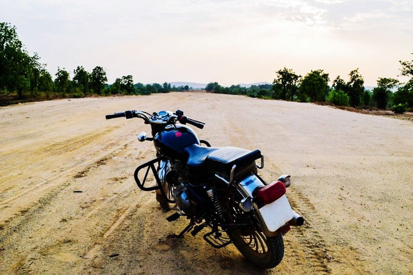 The next best thing between a man's leg. Motorcycle Motorbike Royalenfield Travel Indian Muscle Bullet Outdoors Rider Love