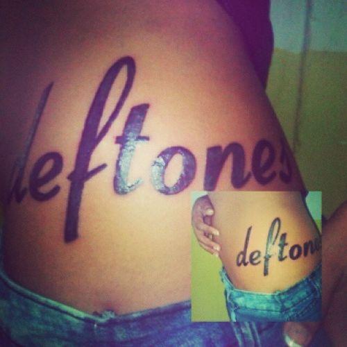 Deftones Forever Tattoo Life Deftoneslove