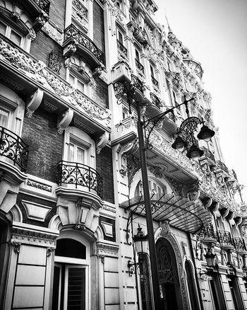 Ornate building Cartagenaspain Blackandwhitephotography Buildings Monochrome Bnw España Murcia SPAIN Architecture Historicbuilding