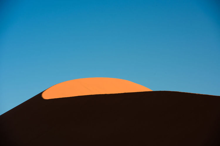 Beauty In Nature Clear Sky Desert Dune45 Dunes EyeEm Landscape EyeEm Nature Lover Namib Desert Namibia Namibia Landscape Nature No People Orange Color