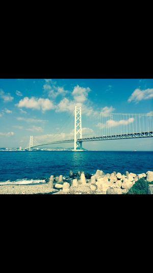 Check This Out Nice View ✨ Akashi Kaikyo Bridge in Japan EyeEm EyeEm Best Shots Enjoying Life