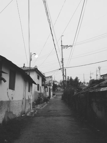 Load 흑백사진 Black & White Houses Old House 집