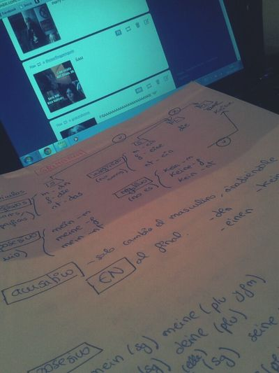 Night Studying Tumblr Deutsch Tomorrow Exam Die Noconcentration