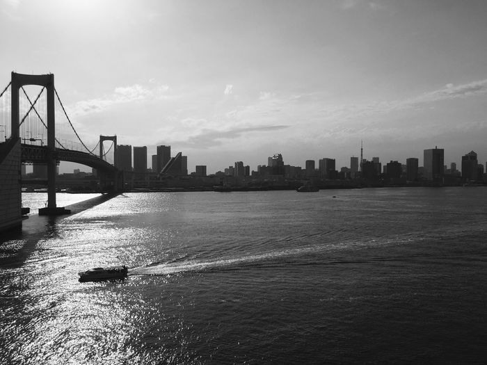 From Where I Stand Neighborhood Sunset Capture The Moment Beginning Of The Night Urban Geometry Black And White Bridge Ocean Early Summer Ultimate Japan