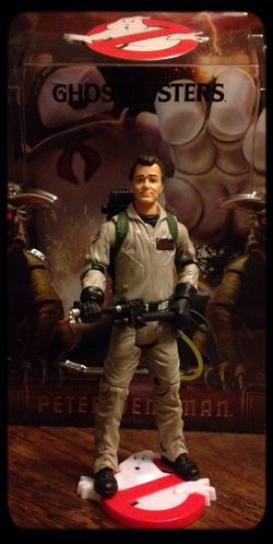 Dr. Peter Venkman ? Pop Art Nerd Ghostbusters Taking Photos Check This Out
