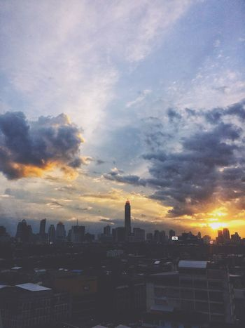 Architecture Built Structure Sky Building Exterior Cloud - Sky Building Sunset