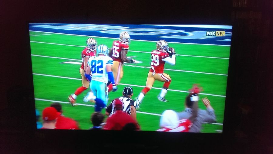 Time For Some Football 49ersVSCowboys 49ERS TOUCHDOWN ! Go Miners!