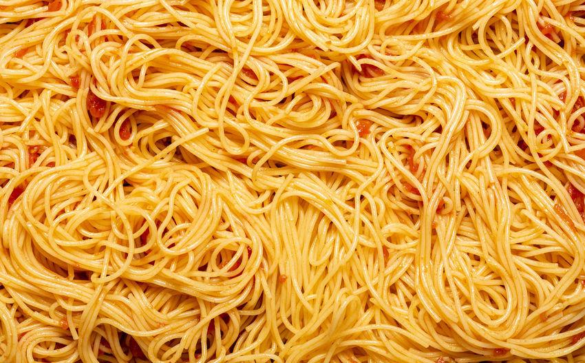 Full frame shot of noodles