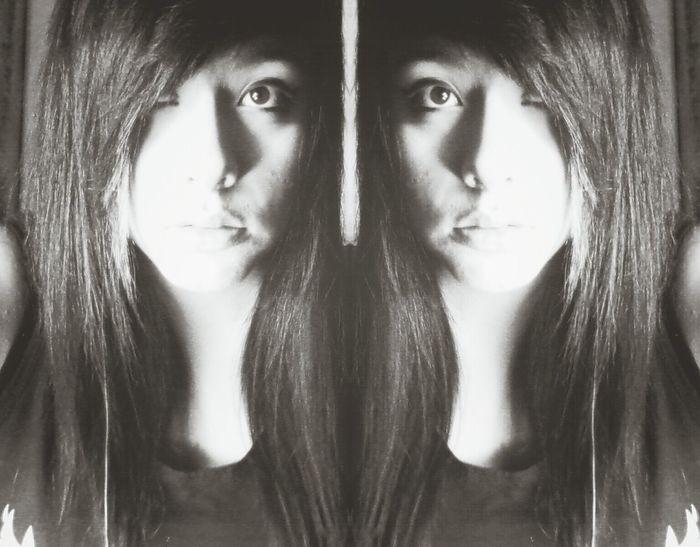 Two sides to every story... Alternative Girls B_w Dark Girl