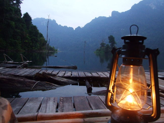 Beauty In Nature Lighting Equipment Mountain No People Outdoors