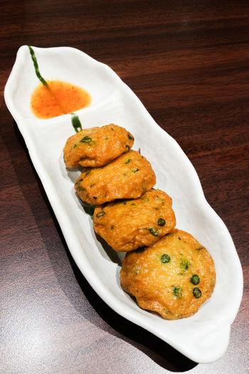 Fish Cakes Chili  Japanese  Restaurant Thai Food
