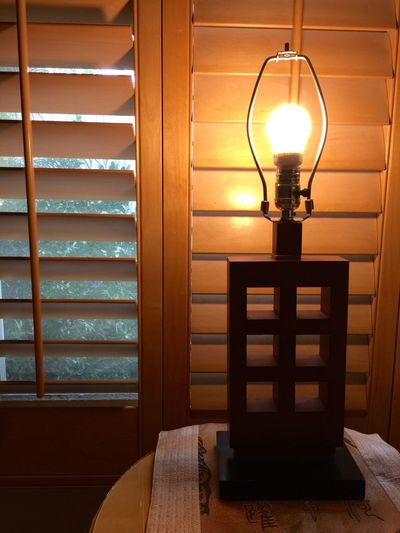 Interior Style room design Decoration Window View Trees Window Shade Lamp Table Table Lamp Background Light Ball Light Ball Home House My House Color Palette Eyeemphoto Two Window Shades Two Is Better Than One My Favorite Place