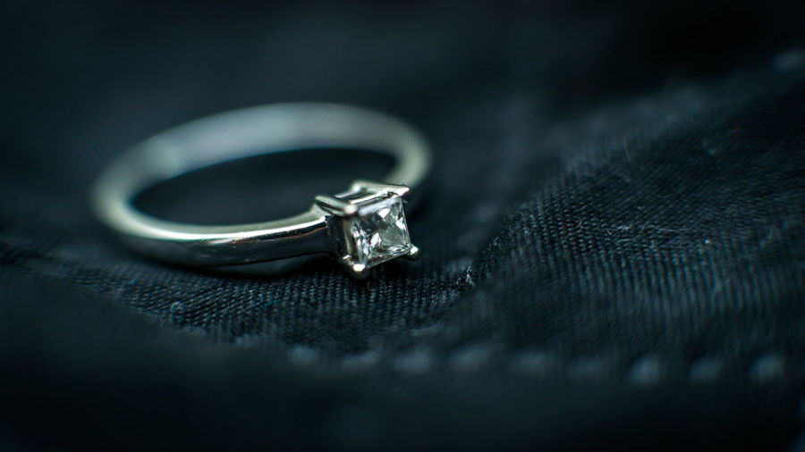 Close-up Diamond - Gemstone Diamond Ring Emotion Engagement Ring Event Indoors  Jewelry Love Luxury Metal No People Personal Accessory Platinum Positive Emotion Precious Gem Ring Selective Focus Silver Colored Single Object Still Life Wealth Wedding Wedding Ring