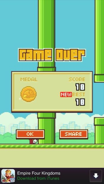 Flappy Bird Game Oh Lord