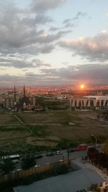 Ankara Ankara'da akşam Nature Gunbatimi