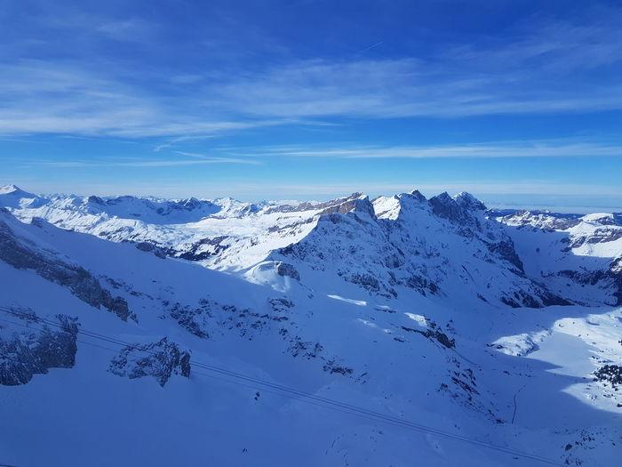 No Filter Schwitzerland Landscape Alpen Alps Schweiz Winter Snow Ski Sky Shades Of Winter