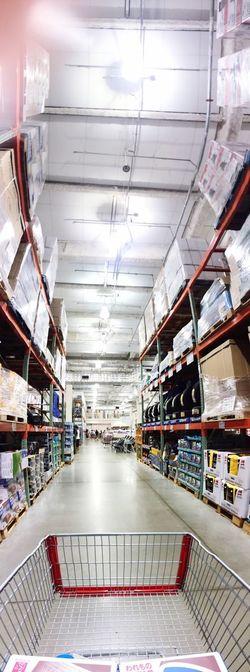 朝からCOSTCO行ってきました(^O^) Costco Shop Panorama IPhoneography