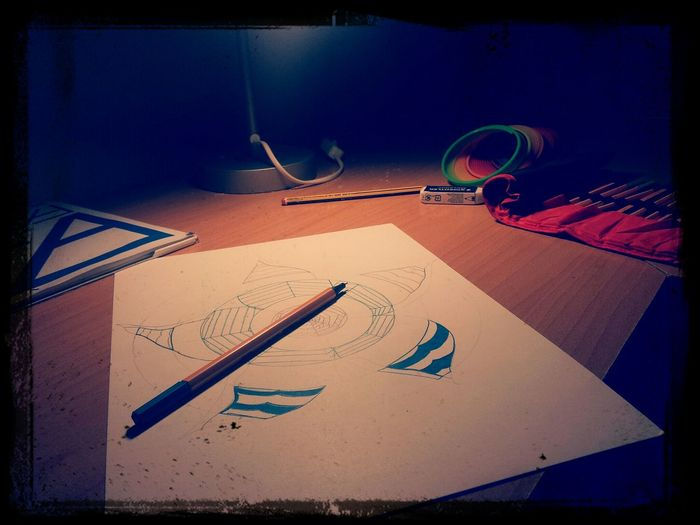 Drawing® Flower Listening To Music Forgiven Skillet Music