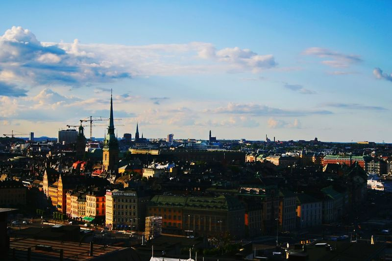 Beautiful Stockholm! Mosebacke Stockholm Skyline Enjoying The View Amazing View City View  Summer City