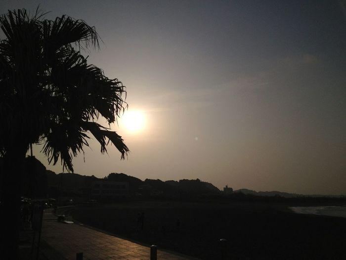 Today's sunset Sunset Sky Enjoying The Sun Enjoying Life
