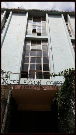 Art Deco in pain Building Dilapidation