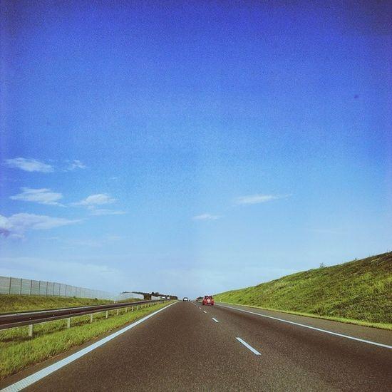 Vscocam Vscopoland Vsco_lover Sky Collection bluesky summer highway