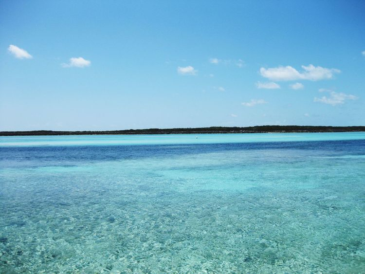 Sea Blue Nature Water Beach Beauty In Nature Tranquility Outdoors Scenics Day No People Sky Salt - Mineral Landscape UnderSea FirstEyeEmPic Ig_worldclub Travel Travel Destinations First Eyem Photo EyeEm Best Shots Eye4photography  Eyeemphotography Bahamas Beauty In Nature