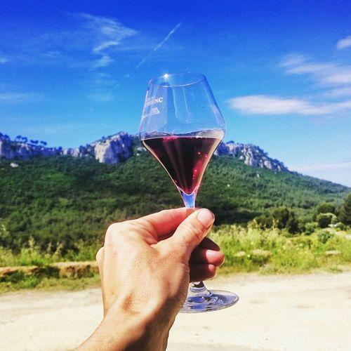 wine Human Hand